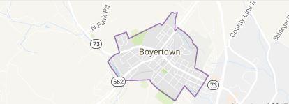 boyertown hvac service area